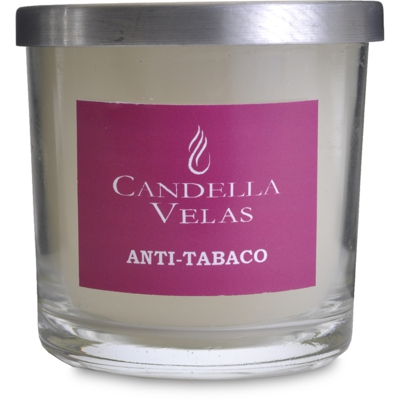 Vela Decorativa aromática anti-tabaco